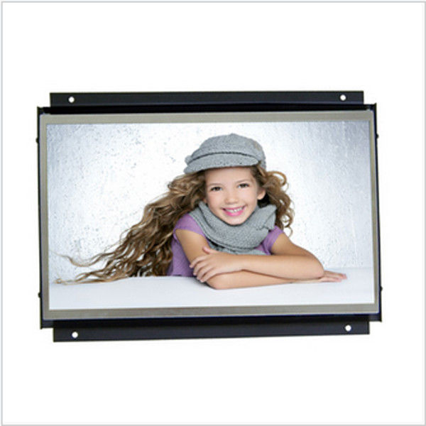 Commercial 7 Inch High Resolution Open Frame LCD Monitor With Video Loop Play