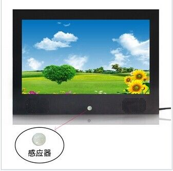 Desktop Wide Viewing Angle Motion Sensor Digital Photo Frame 15.6 Inch